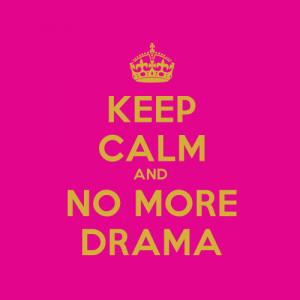 Scapa de drama