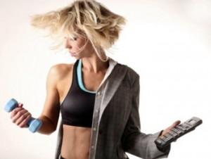 Femeie antrenament
