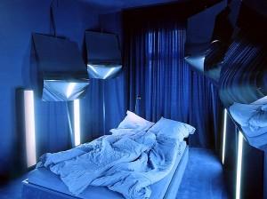 Camera Albastru