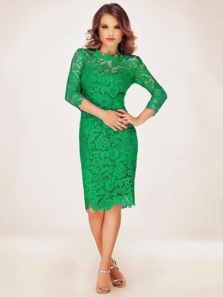 rochie-verde